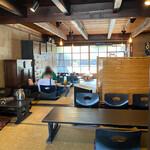 韓国家庭料理 青山 - こちらが奥の畳の間。