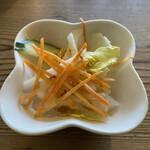 韓国家庭料理 青山 - サラダ