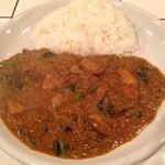 Curry House TIRI TIRI   - ポークマサラカレー+ほうれん草
