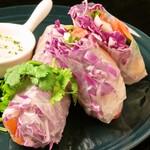 エムナチュール - 彩り野菜の生春巻き