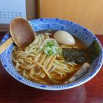 らうめん 麺坊 - 「正油ラーメン(大盛)」