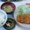 とん駒 - 料理写真:ランチメニュー1番人気 ロースかつ定食