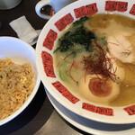 バーミヤン - 期間限定の濃厚鶏白湯ラーメン
