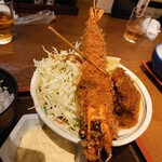 大阪炉端キッチンMARUDA-I - 大えびフライ❗