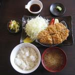 カツキチ - 「上ロースかつ定食」1100円