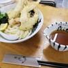 讃州手打ちうどん 我流 - 料理写真:ぶっかけ かしわ天 、冷