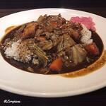 CoCo壱番屋 - 料理写真:スパイスカレーTHEローストチキンスパイシーマサラカレー