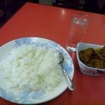 アルモディナレストラン - マトンカレーセット ¥600