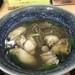 豊福 - 大小交えての牡蠣ですが、これで700円なんですよ!(2020.3.6)