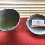 古今伝授之間 香梅 - 料理写真:抹茶と加勢以多