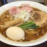 麺屋 七利屋 - 料理写真:味玉中華そば(大盛)900円