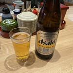 もりもり寿し - ドリンク写真:2020年3月6日  便ビール(アサヒスーパードライ)600円