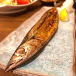 スタンド三国 - 秋刀魚の塩焼き