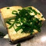 お好み焼 ハクサン - 豆腐ステーキ