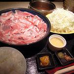 武蔵 - もち豚しゃぶしゃぶ
