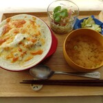shokudoumamma - 「牡蠣とホタテのドリア」900円。