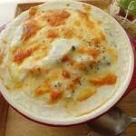 shokudoumamma - 牡蠣とホタテのドリア。