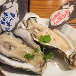 魚介ビストロ sasaya BYO - 生牡蠣