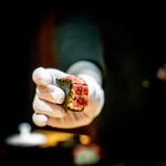焼肉 うしみつ - サーロインの棒寿司