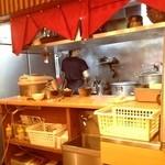 麺 源屋 - 厨房