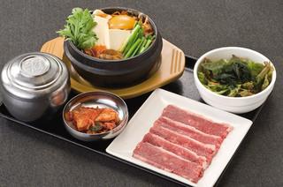 土古里 - 山形和牛焼肉&純豆冨チゲセット