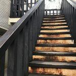 トリトンカフェ - 階段
