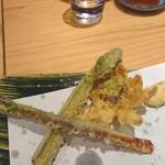 和ごころ 田なか - 山菜天ぷら