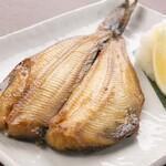 ぼんてん漁港 - 肉厚とろホッケ焼き