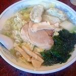 つべつ西洋軒 - 野菜ギョウザラーメン(塩)