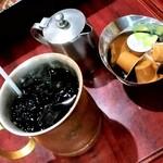 アーモンド - アーモンド@小伝馬町 アイスコーヒー