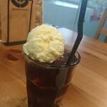ブラウンコーヒー - コーヒーフロート別角度