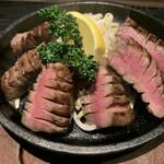 牛タン ふかざわ - 厚切り牛タンの炭火焼き