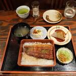 126922812 - 鰻重定食(税込み1980円)