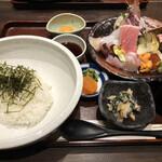 ○海 - 旬鮮丼御膳・上