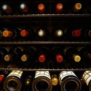 コンクール入賞歴ソムリエによるワインペアリング
