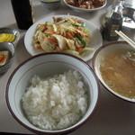 舘の丸食堂 - 野菜いため定食