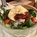 洋食勝井 - 紅ズワイガニのサラダ