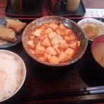 一杯屋 - 麻婆豆腐定食