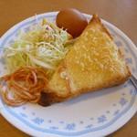 キッチンカフェ・心 - モーニング(アーモンドトースト)