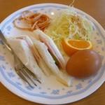 キッチンカフェ・心 - モーニング(サンド)