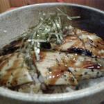 海鮮工房 なみ平 - 穴子丼 アップ