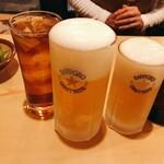 のぶ味 - ドリンク写真:トリビーで乾杯♪