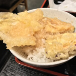富水 - 富水(東京都江東区富岡)富水定食(並:刺身・天ぷら)