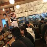 魚三酒場 - 魚三酒場 富岡店(東京都江東区富岡)店内