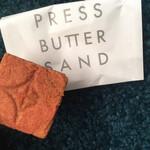 プレスバターサンド - 焼きたてバターサンド(あまおう苺)