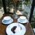 カフェ・ド・ラペ - 特製レアチーズケーキともろもろ。