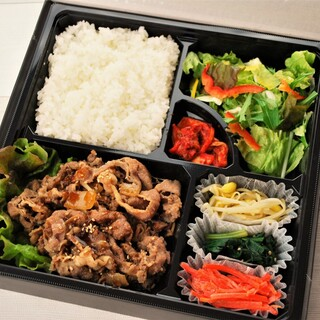 ◆お持ち帰りメニュー◆焼肉弁当・・・税込価格1,080円
