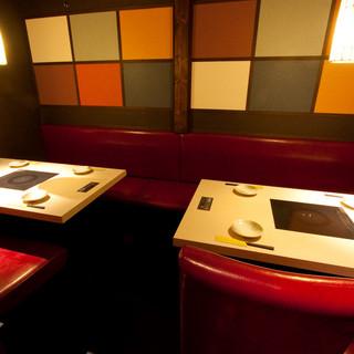 【少人数様向け個室】周りを気にせずゆったりお食事を楽しめます