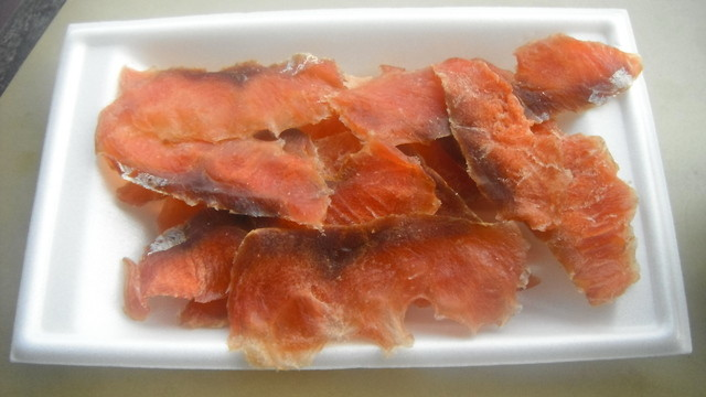 戸松 - 鮭とば(200円)