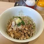 鶏そばムタヒロ - 鶏 油そば(750円)
